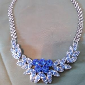 Sky Blue and Royal Blue Necklace